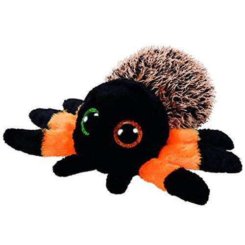 Stuffed Animals Ty Beanie Animals Leggz The Halloween Spider Plush Toy 15cm-Orange