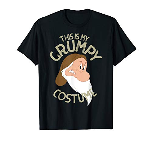 Disney Snow White This Is My Grumpy Costume Halloween T-Shirt