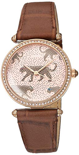 Fossil Women's Lyric ES4683 Pink Leather Quartz Fashion Watch