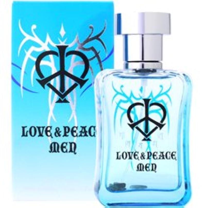 チャレンジ慢性的聡明ラブ&ピース LOVE&PEACE ラブ&ピース メン オードパルファム EDP SP 50ml