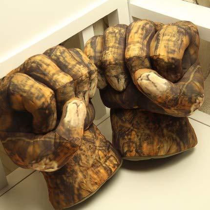 guoguo Lustige Plüsch Spielzeug Boxhandschuhe Stoffpuppe Geburtstag Kindertag Kreatives Geschenk Stein Modelle EIN Paar von ca. 25 cm lang