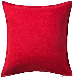 Ikea Cushion Throw Pillow Cover Red Gurli 20 X 20