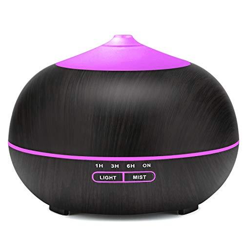 400ml Aroma Diffuser, Ultraschall Luftbefeuchter für zuhause, Yoga, Büro, SPA, Schlafzimmer