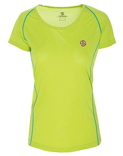 Ternua® intum T-Shirt, Femmes L Vert - Citron Vert