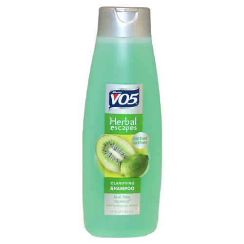 Alberto VO5 Herbal Escapes Kiwi Lime Squeeze Clarifying Shampoo, 15 Ounce