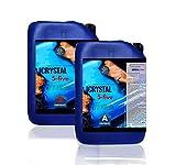 Resina epoxi Crystal Five 33 kg: ideal para mesas de resina y coladas de hasta 5 cm...