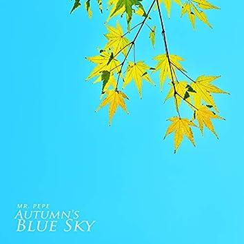 Autumn's Blue Sky