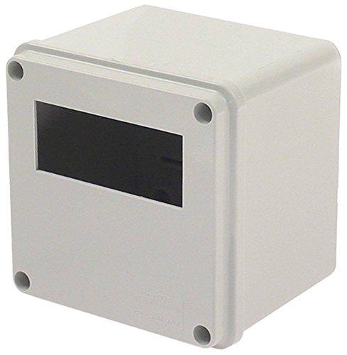 DIXELL C-BOX behuizing voor elektronische regelaar afmetingen 100 x 100 x 80 mm opbouwversie inbouwmaat 71 x 29 mm behuizing C-BOX