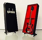 Bill Wyman (The Rolling Stones) – Wyman Bass Réplica de guitarra en miniatura