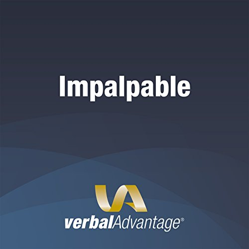 Word of the Day: Impalpable cover art