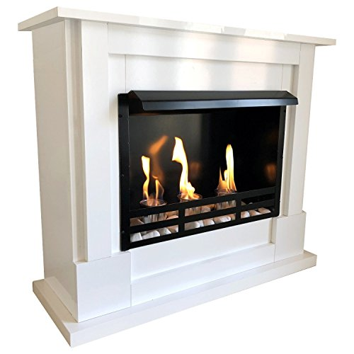 Ethanol Fireplace Stove, Base Model Lucas Includes 27 Piece Set