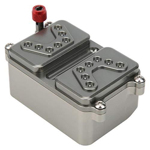DAUERHAFT Hochhärte RC Car Receiver Box Ersatzteil Receiver Box Leichtgewicht Langlebig mit verbesserter Leistung