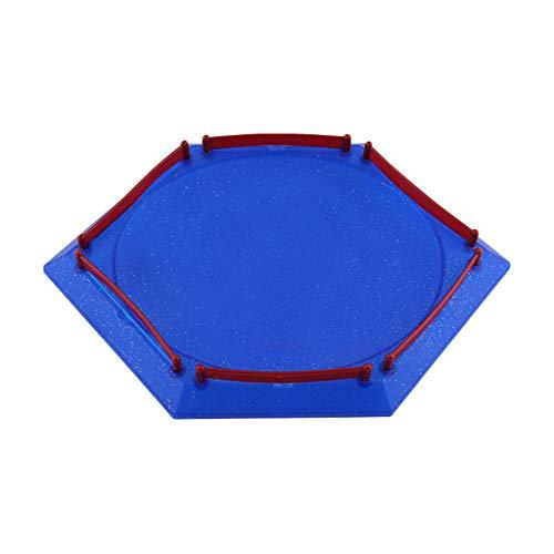 SHURROW 2019 Nuevo Disco de Arena para Beyblad Burst Gyro Duelo emocionante Spinnig Estadio Superior Placa de Batalla Accesorios de Juguete Regalo para niños Plato de Cena de Juguete para niños D