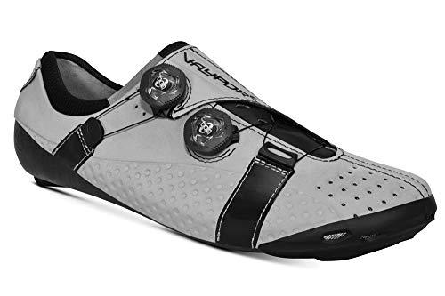 Bont Unisex-Erwachsene Vaypor S Radsportschuhe, Mehrfarbig Vssr 42 5 Silver Reflective 000, 45 EU