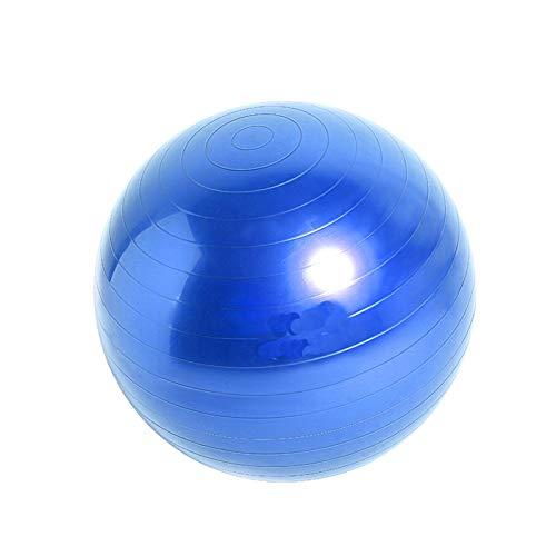 Pelota de yoga de PVC de 75 cm de diámetro, engrosada a prueba de explosiones para gimnasia, pilates, yoga y yoga con bomba rápida