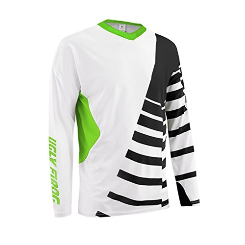 Uglyfrog 2018 V-Collar Long Sleeve Sports Jersey Frühling Motocross Downhill Trikots Enduro Cross Motorrad MTB Shirt