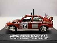 絶版 ☆三菱 カリスマ GT ゼッケン19番 2001 スゥエディシュラリー トーマス ラドストローム モデル