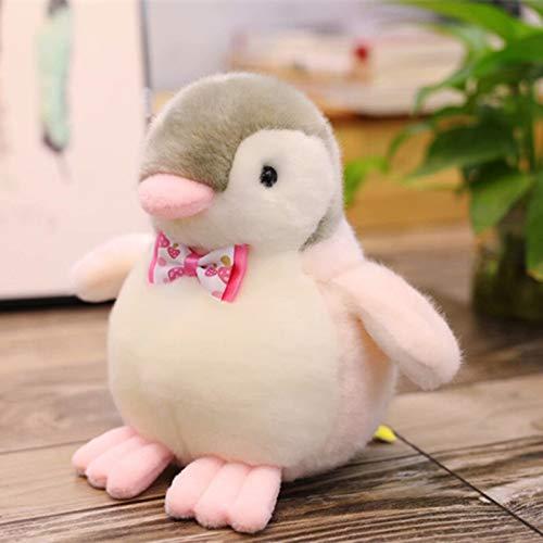 N / A Lindo pingüino de Juguete de Peluche pingüino con Pajarita muñeca bebé niños decoración de la Tienda del hogar Juguete 20CM