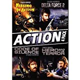 Chuck Norris 4 Feature Action Collection Missing In Action, Delta Force 2, Code of Silence, Hero and the Terror