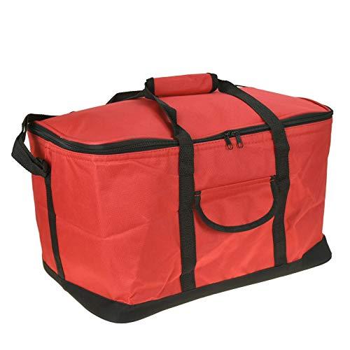 Guilty Gadgets - Bolsa térmica con cremallera para verano, para camping, picnic, con correa para el hombro, ligera, portátil