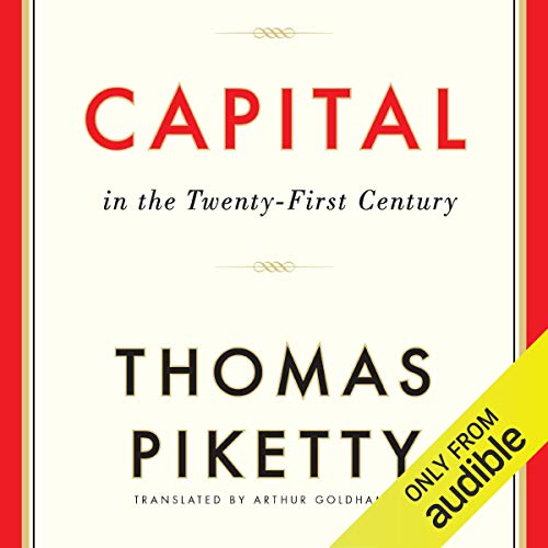 Page de couverture de Capital in the Twenty-First Century