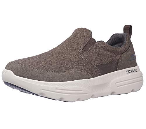 Skechers Men's Go Walk Duro - Water Repellent Performance Walking Shoe, Khaki, 8 X-Wide US