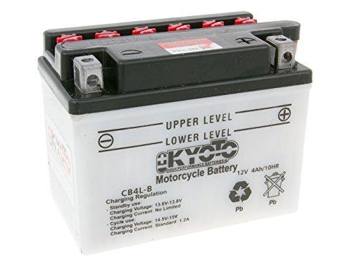 Batterie Kyoto 12V CB4L-B für Pegasus Solero 50 Bj. 2000-2001 - inkl. 7,50 EUR Batteriepfand