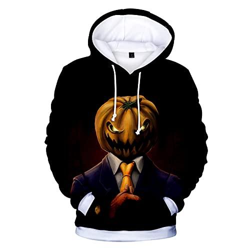 WBYFDC Halloween 3D Hoodie Herbst Winter Horror Sweatshirt Männer Frauen Mit Kapuze Gedruckt Pullover Coole Hoodies Hip Hop