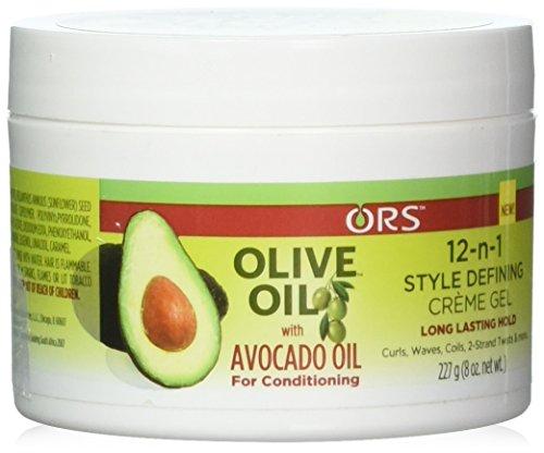 ORS Crème gel coiffante 12 en 1 à l'huile d'olive