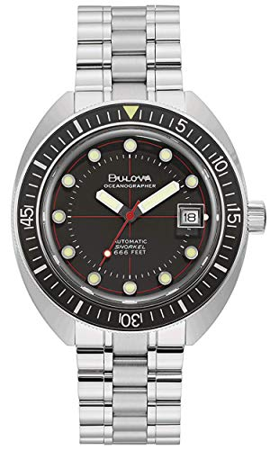 Bulova Herren Automatik Armbanduhr Oceanographer Devil Diver 96B344