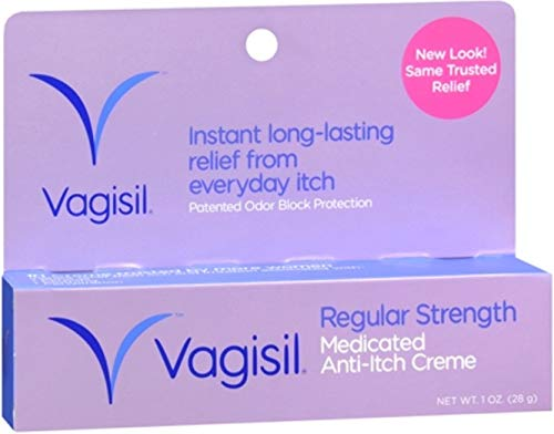 Vagisil Anti-Itch Creme Original Strength 1 oz (Pack of 12)