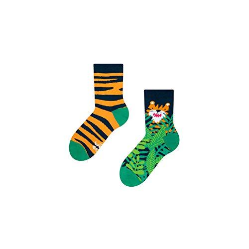Dedoles Good Mood Tiger Unisex Kids Big Cat Animal Socks 31-34