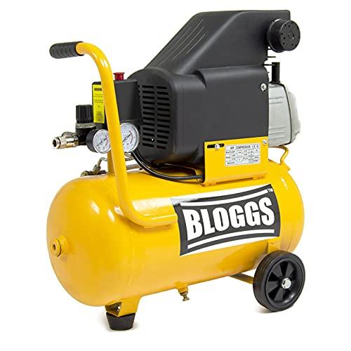 Bloggs 24L Air Compressor 2.0HP 6.9CFM 8BAR 115psi 230V