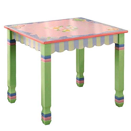 Table à manger de jeu jouet en bois (pas de chaise) chambre enfant bébé W-7484A1