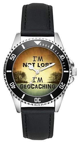 Geocaching Geschenk Artikel Idee Fan Uhr L-6111