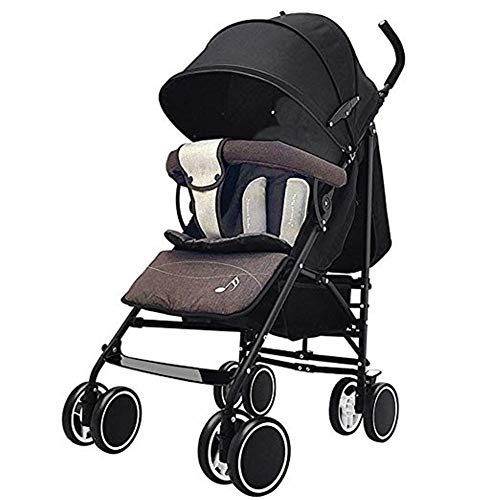 Buy Discount Goquik Baby Strollers Can Sit and Recline, Light Fold, Four Seasons, Universal Breathable and Comfortable, Suitable for Children Aged 0-3 (Color : 3)