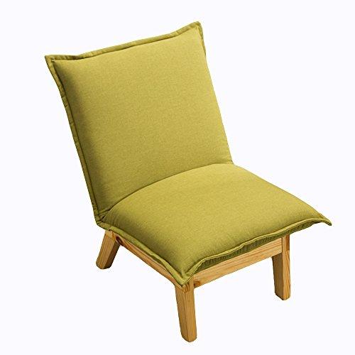 KFXL yizi Simple chaise pliante multifonction en bois massif/décontracté chambre confortable canapé/chaises/balcon moderne Siesta dossier chaise (7 couleurs disponibles) (Couleur : B)