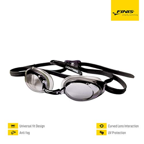 FINIS Lightning Goggles (Black/Smoke)
