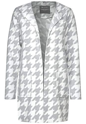 Street One Damen 211076 Mantel, Mehrfarbig (Club Grey Melange 22003), (Herstellergröße:38)