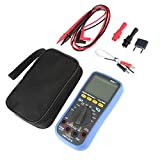 DJY-JY Multímetro digital, B35T + multímetro digital de verdadero valor eficaz Bluetooth ohmímetro del amperímetro del voltímetro probadores