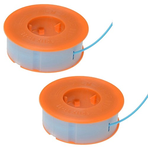 2 x ALM Strimmer Spool & Lines For Bosch ART 23 26 30 Combitrim Easytrim by Alm