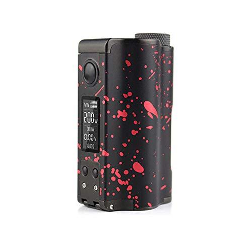 DOVPO Topside Dual 200W Top Füllen TC Squonk MOD mit 10ml Squonk Flasche E-cig vape Box Mod (Black Red)
