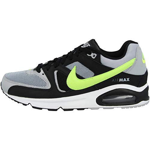 Nike Herren Air Max Command Leichtathletikschuhe, Mehrfarbig (Wolf Grey/Volt/Black/Cool Grey 47), 42 EU