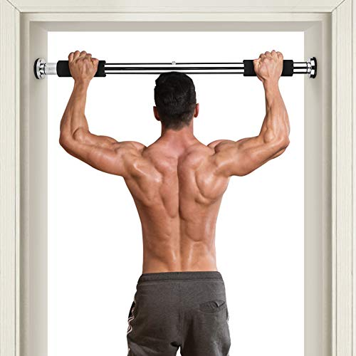 Cocoarm Pull Up Bar for Doorway Adjustable Fitness Bar Chin Up Way Pull Up Bar Wall Mounted Width Workout Bars for Home Gym Exercise Fitness Sunny Health