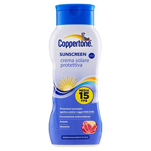 COPPERTONE Fp15 sunscreen...