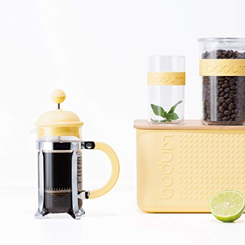 BODUM ボダム CAFFETTIERA カフェティエラ フレンチプレス コーヒーメーカー 350ml バナナ (限定カラー) 【正規品】 1913-341-Y19