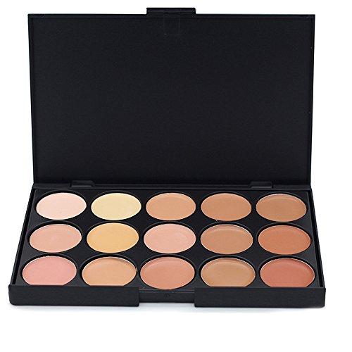 JacCherry 15 Colori Correttore Palette Trucco Concealer Camouflage Cream Cosmetico Make Up Kit Set - Perfetto per l uso quotidiano #2
