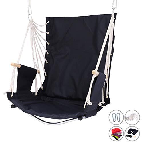 XXCC Outdoor-Schaukel Stuhl Mit Armlehnen Aus Holz Innen Große Hängesessel Halten Kann 120kg Strand Schaukel Stuhl Kreativer Innenliegestühle