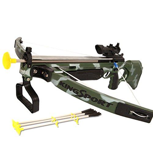 Seciie Pfeil und Bogen Kinder Set, Kinder Schießspiele mit Zielscheibe Bogen-Armbrust Spielzeug Outdoor Sportspielzeug für Kinder
