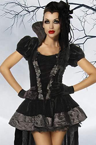 Vampir-Kostüm - schwarz - XL